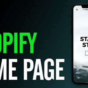 How To Design A Shopify Home Page THAT SELLS!
