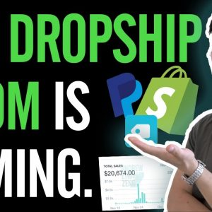 Why Dropshipping is THRIVING not DYING Right Now (Dropshipping to Blow Up!)