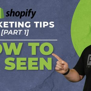 How To Get Traffic To Your Dropshipping Store [Shopify Marketing 1 of 3]
