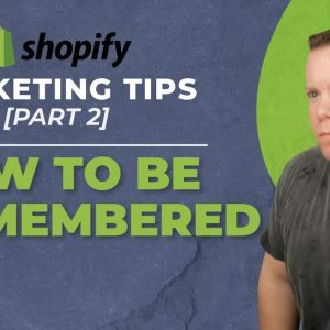 Retargeting Strategy For Dropshipping Stores [Shopify Marketing 2 of 3]