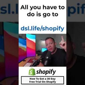 How To Get a 30 Day Free Trial On Shopify